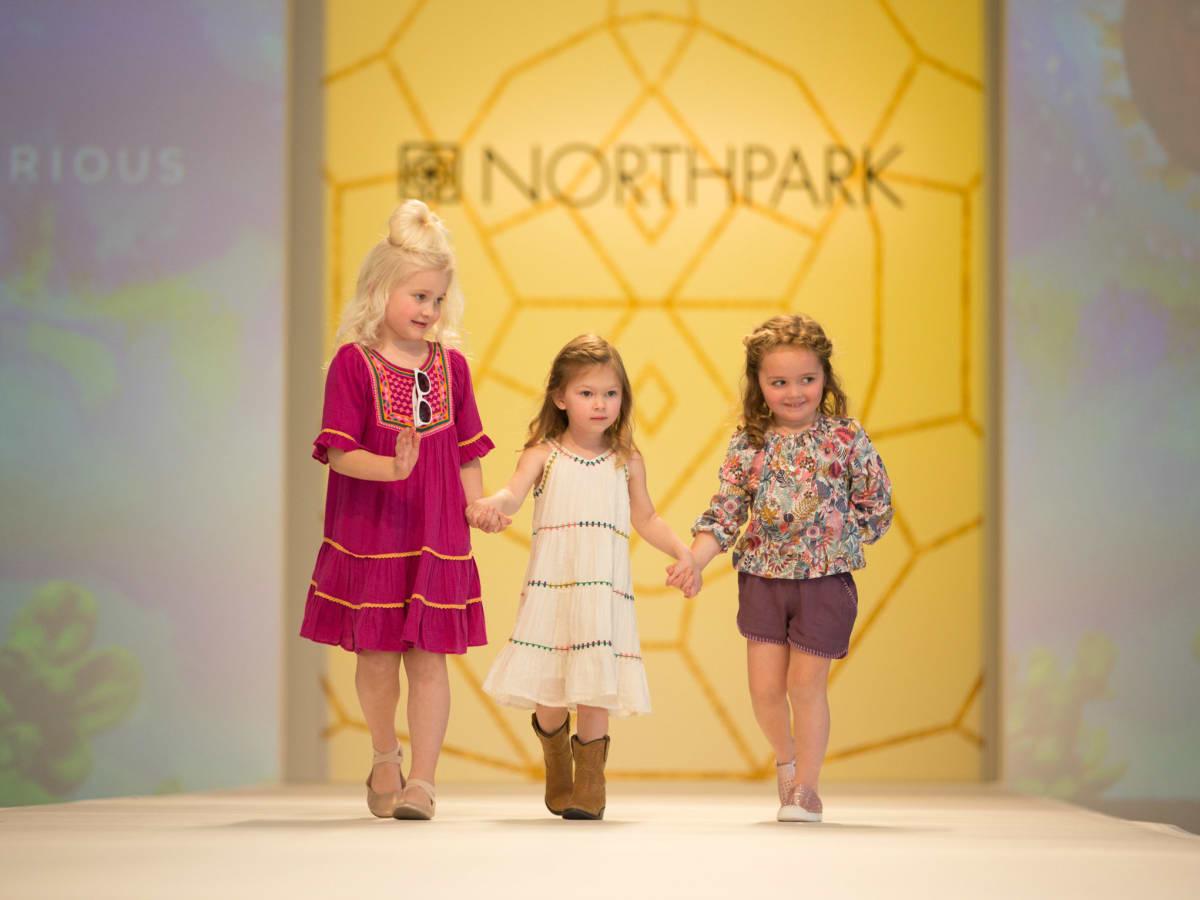 Children's fashion show at Leukemia & Lymphoma Society