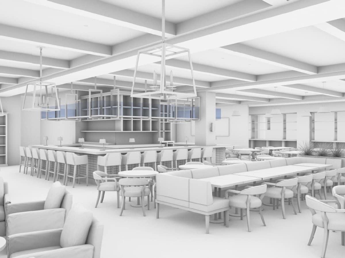 Fig & Olive Galleria rendering
