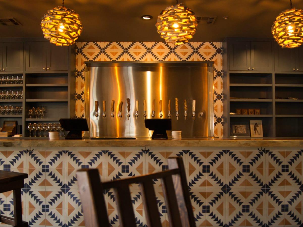 Oddwood Ales ATX tap wall