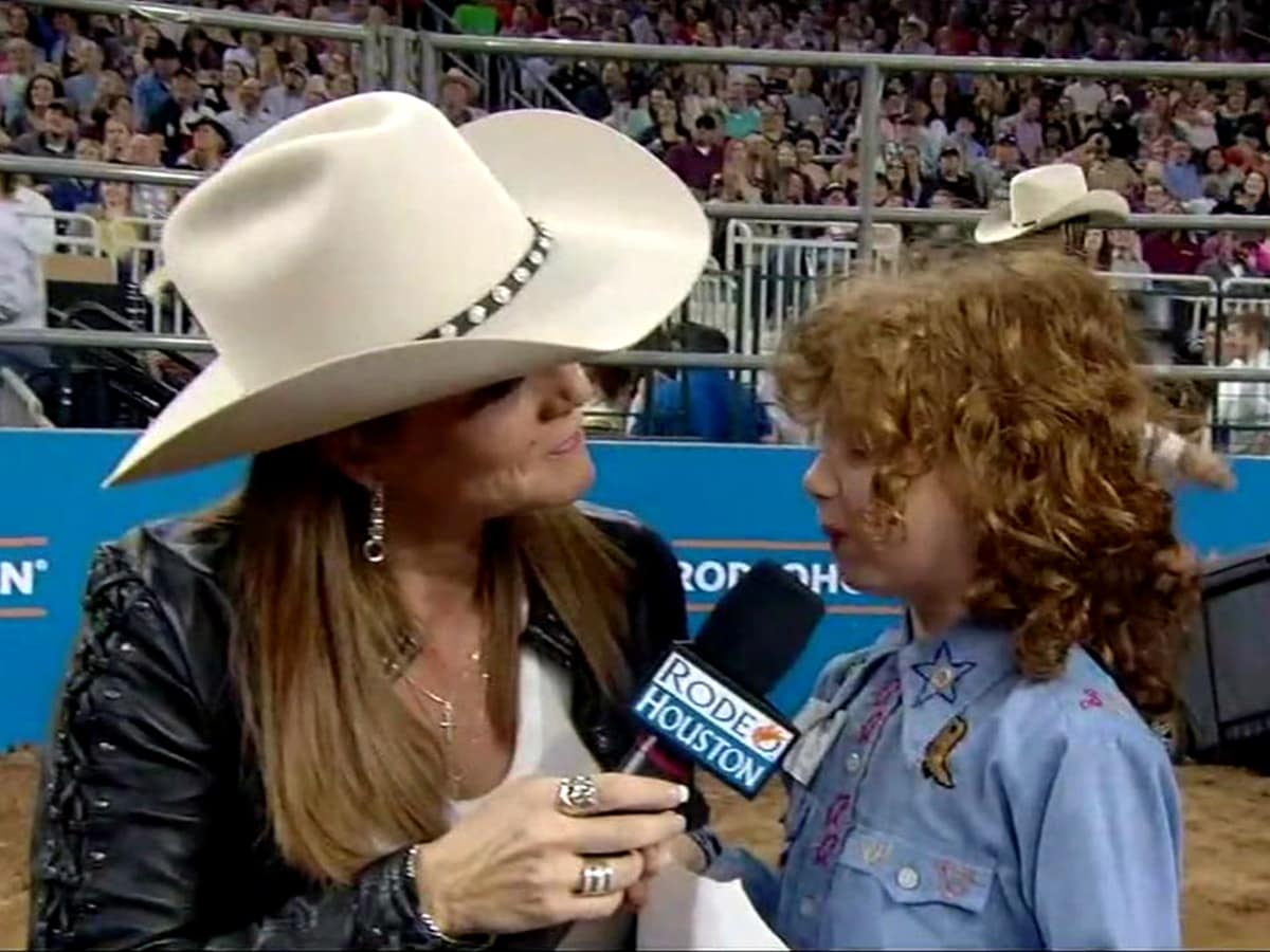 Marlie McDonald mutton bustin RodeoHouston 2018
