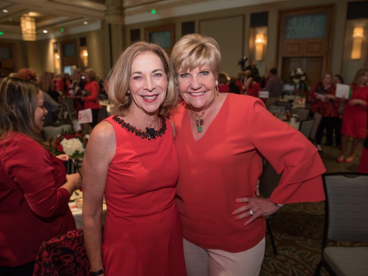 Katherine Switzer, Mayor Betsy Price, Go Red for Women Fort Worth 2018