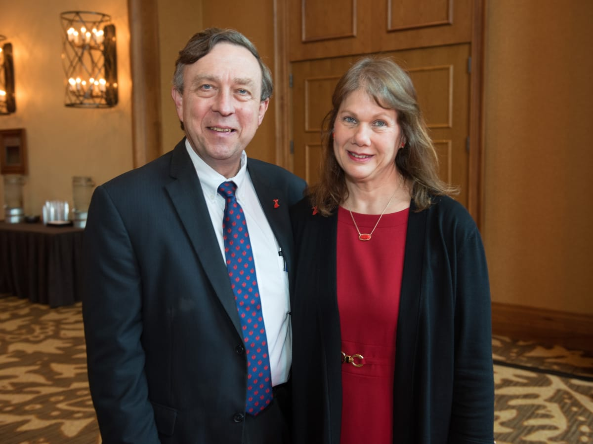 Larry Anfin, Karen Anfin, Go Red Fort Worth 2018