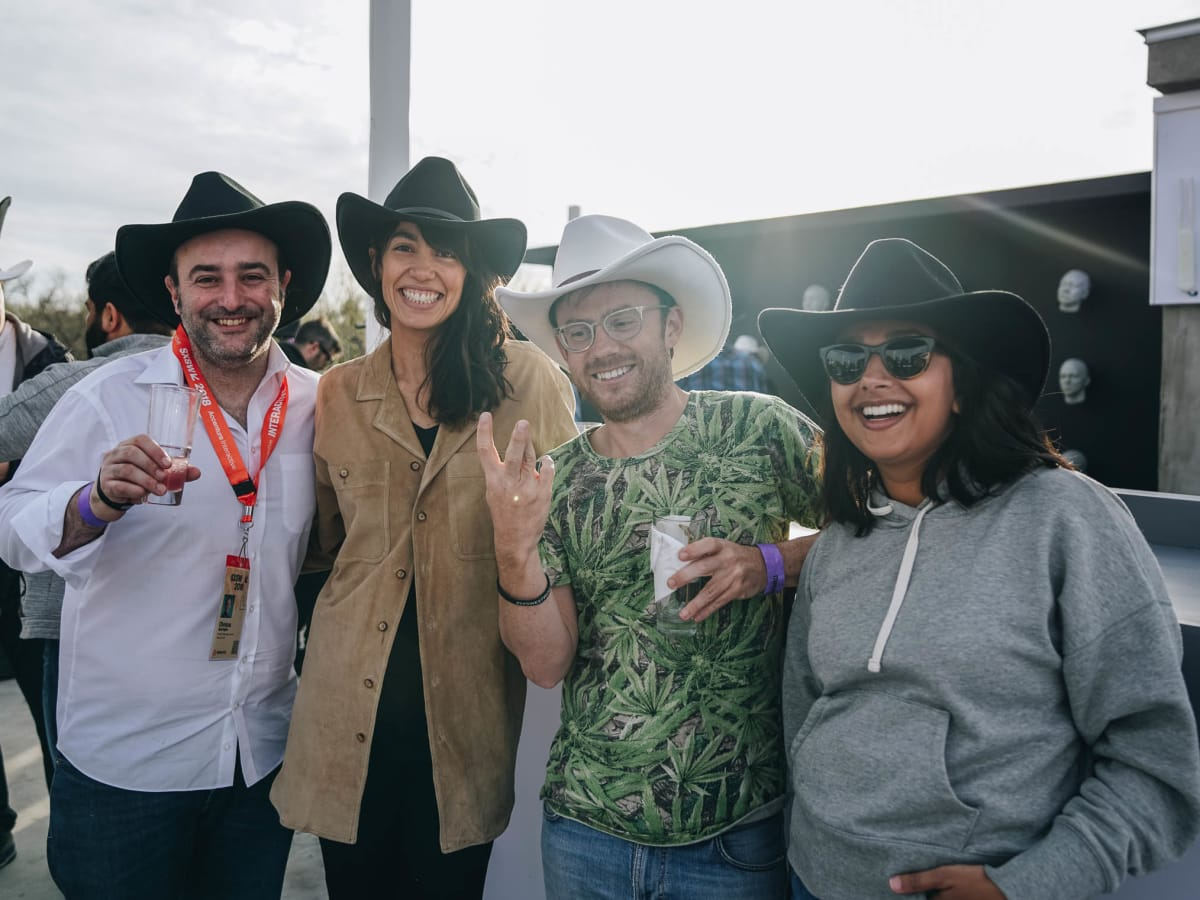 SXSW Westworld Experience at Eastside Tavern Christos Apartoglou Carolina Teixeira Kevin Prior Akansha Sharma