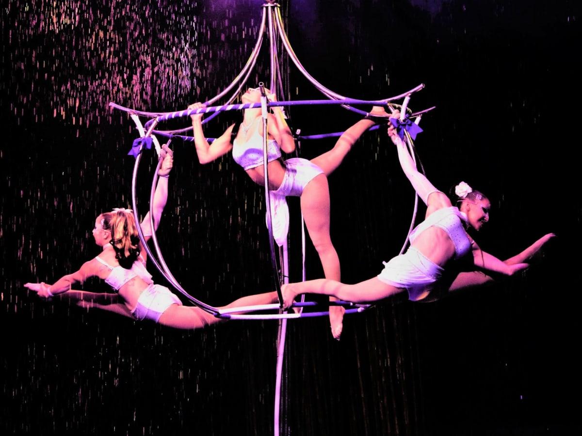 Cirque Italia aerial artists