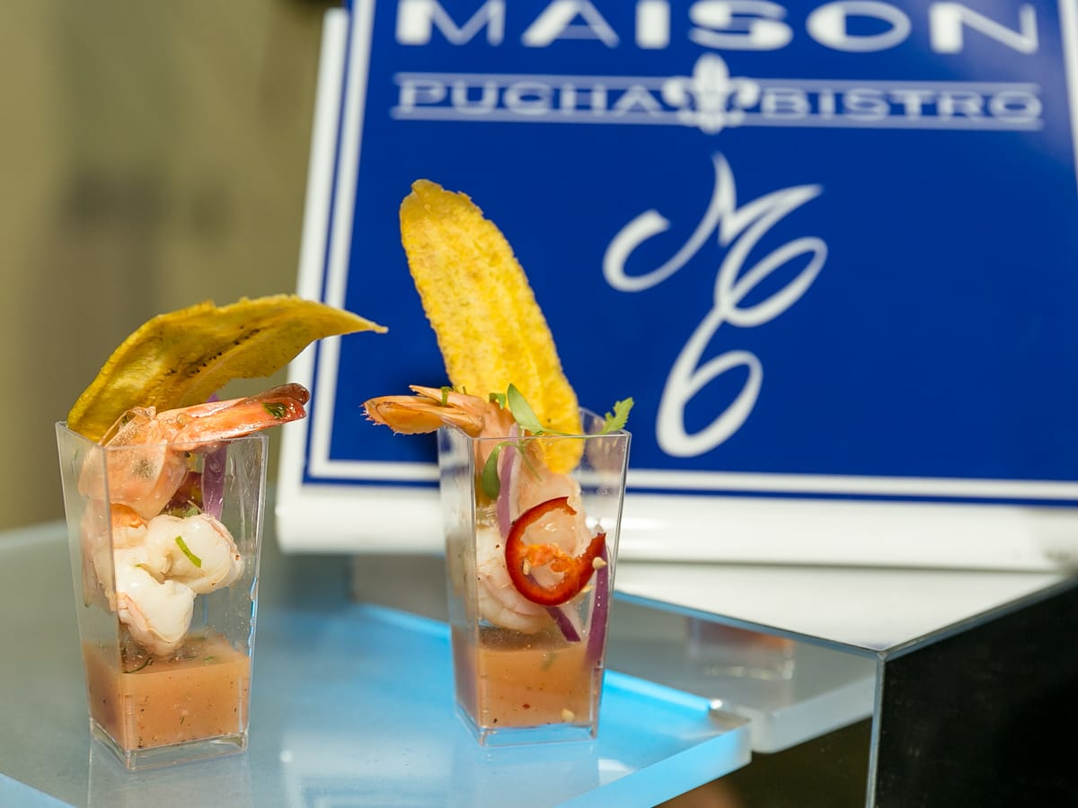 Tastemaker Awards 2018 food Maisson Pucha