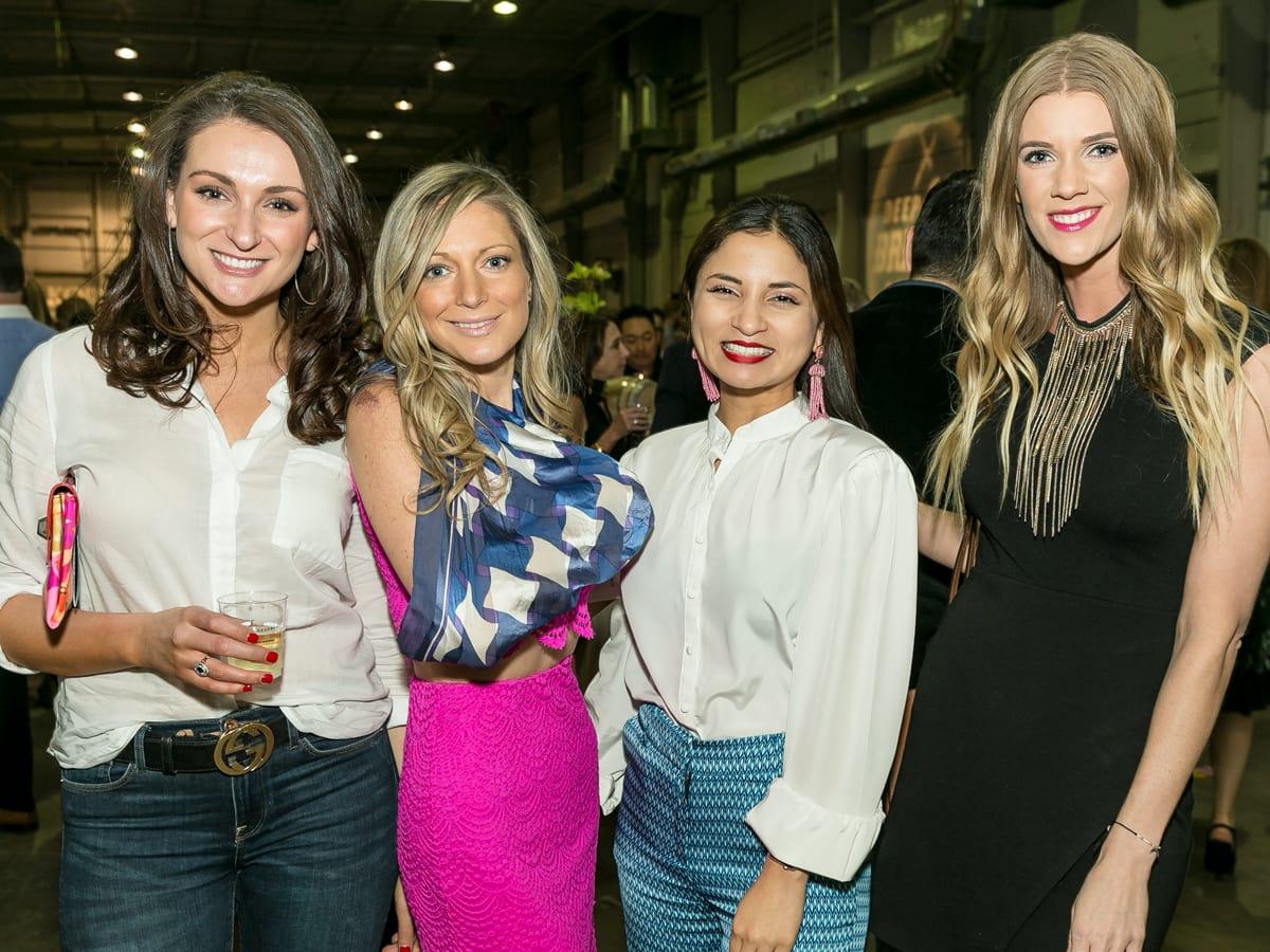Tastemaker Awards 2018 Margarita Fuksman, Samantha Walter, Brenda Sosa, Lacee Wilke