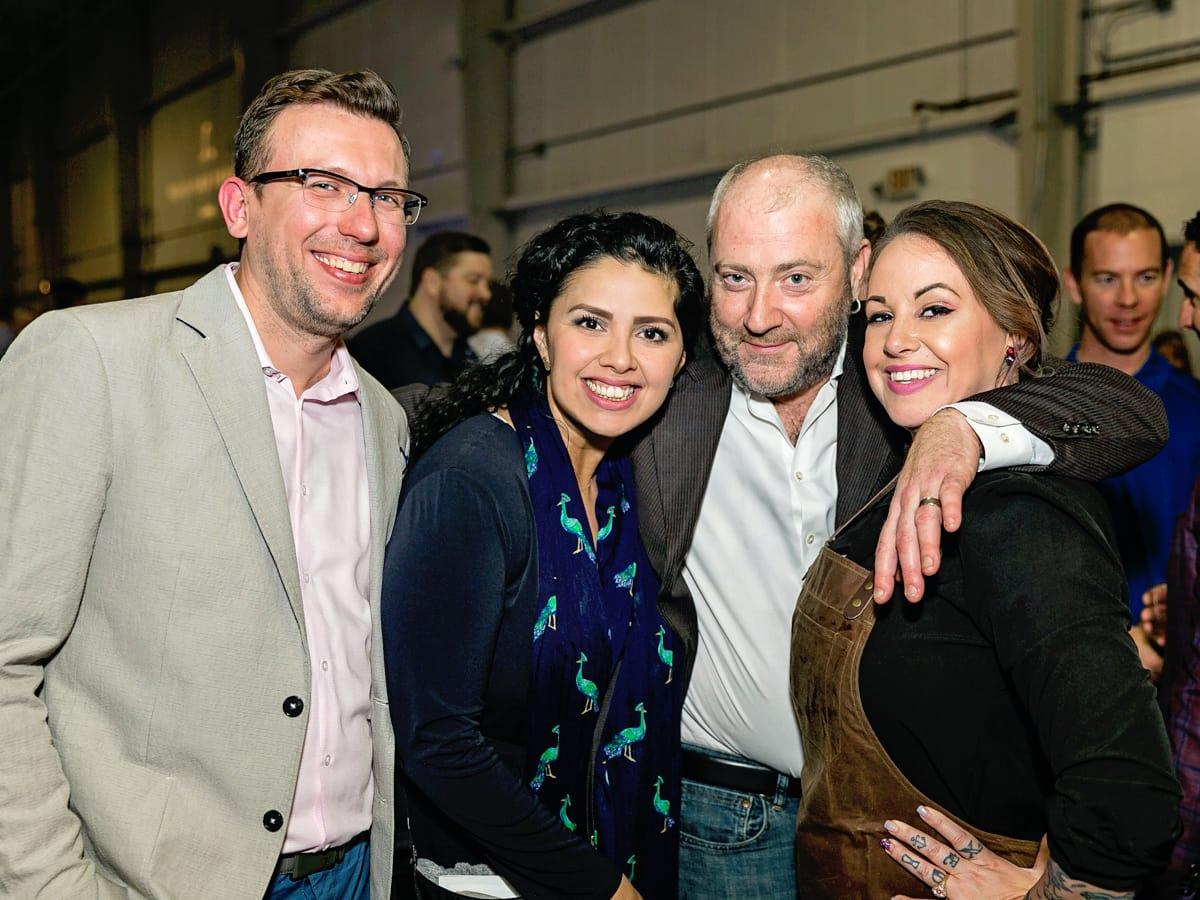 Tastemaker Awards 2018 Frank Krockenberger, Linda Salinas, Richard Knight, Leslie Krockenberger