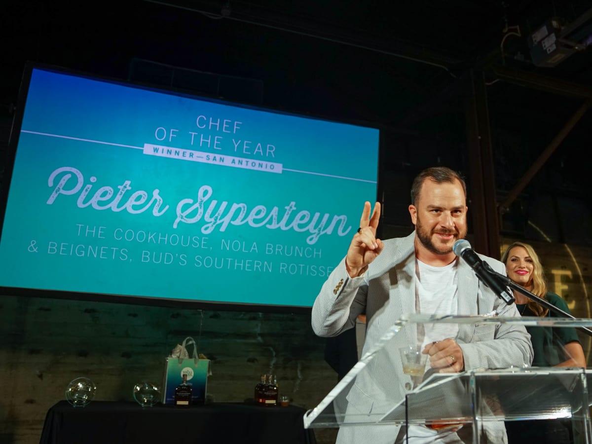 CultureMap Austin 2018 Tastemaker Awards at Fair Market San Antonio Chef of the Year Pieter Sypesteyn