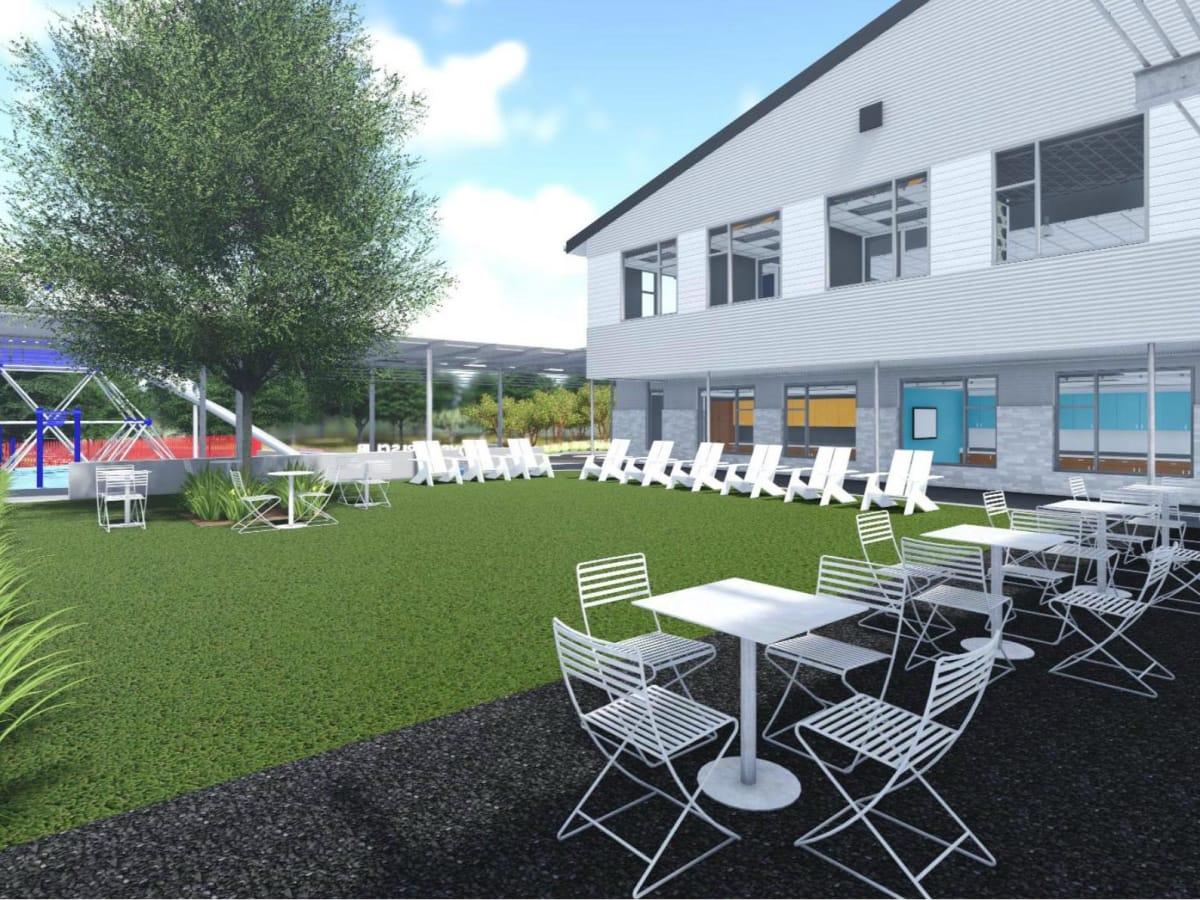 Boy & Girls Club Landscape Concept 3