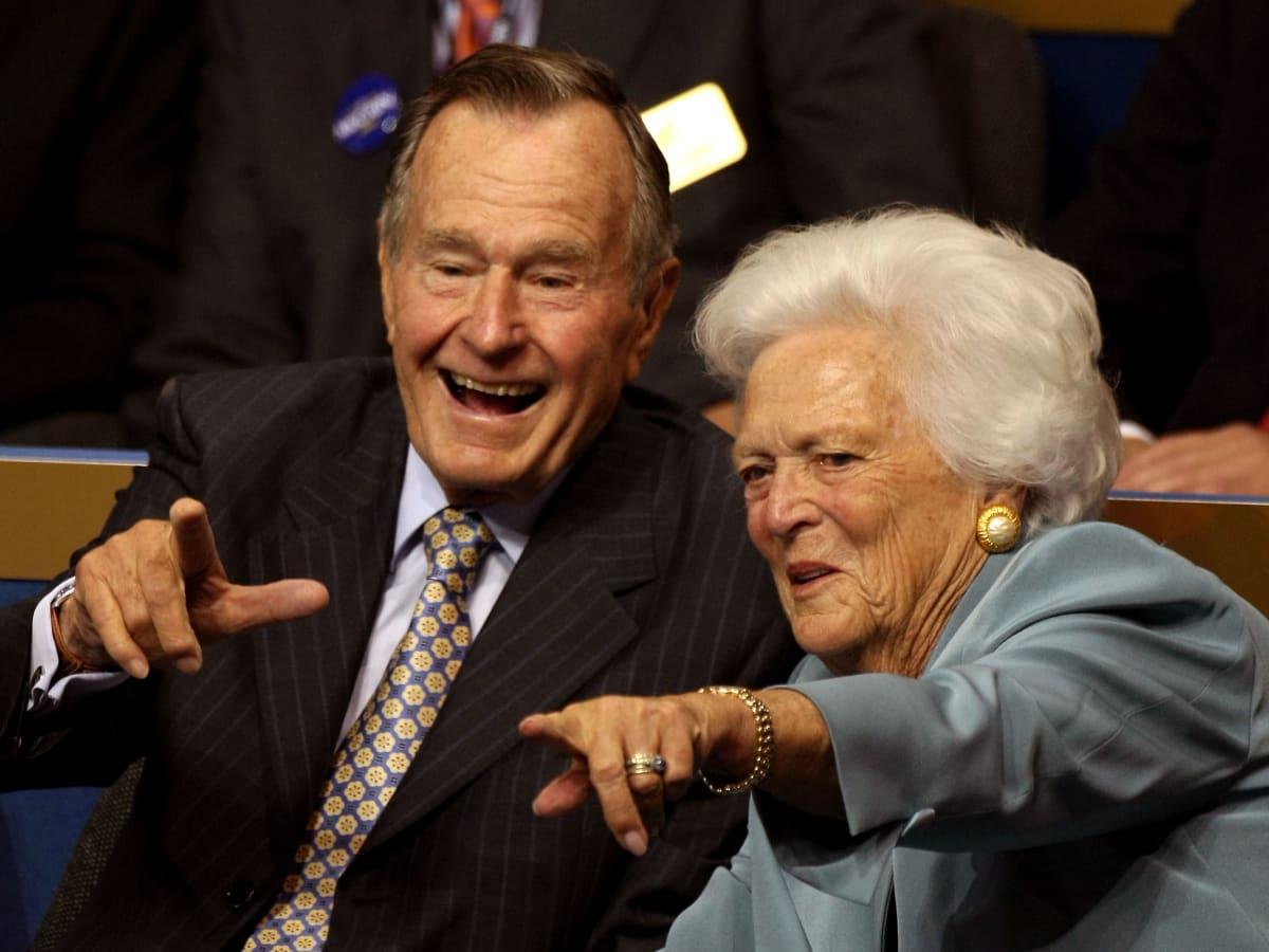 President Bush and Barbara Bush
