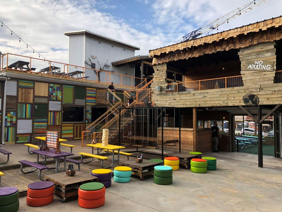 The Yard patio, Fort Worth