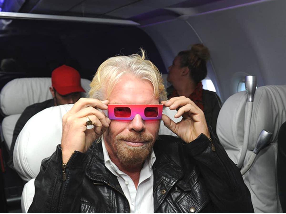 Sir Richard Branson, Virgin America