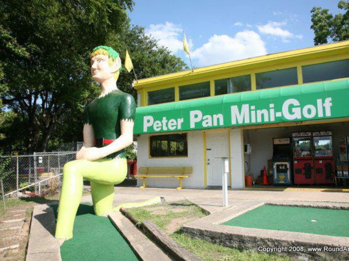 Austin_photo: places_outdoors_peter pan mini golf_peter