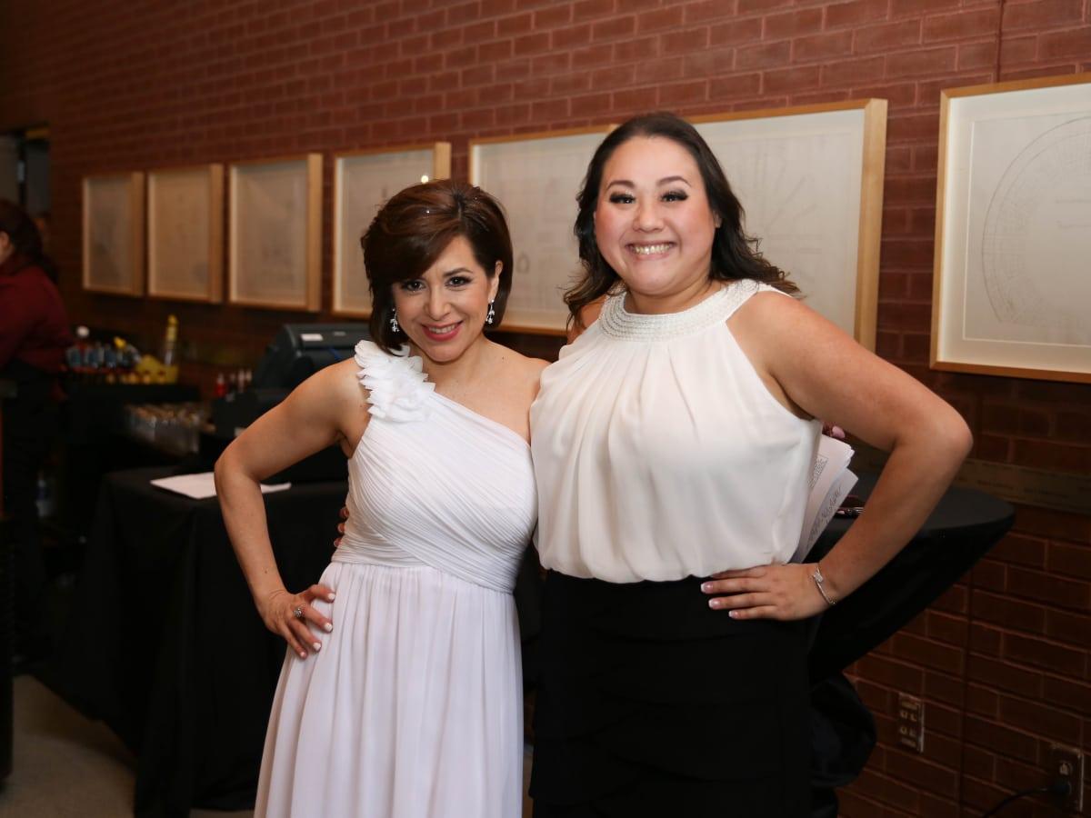 Fort Worth Opera Gala 2018, Paulina Magdaleno, Nancy Tran