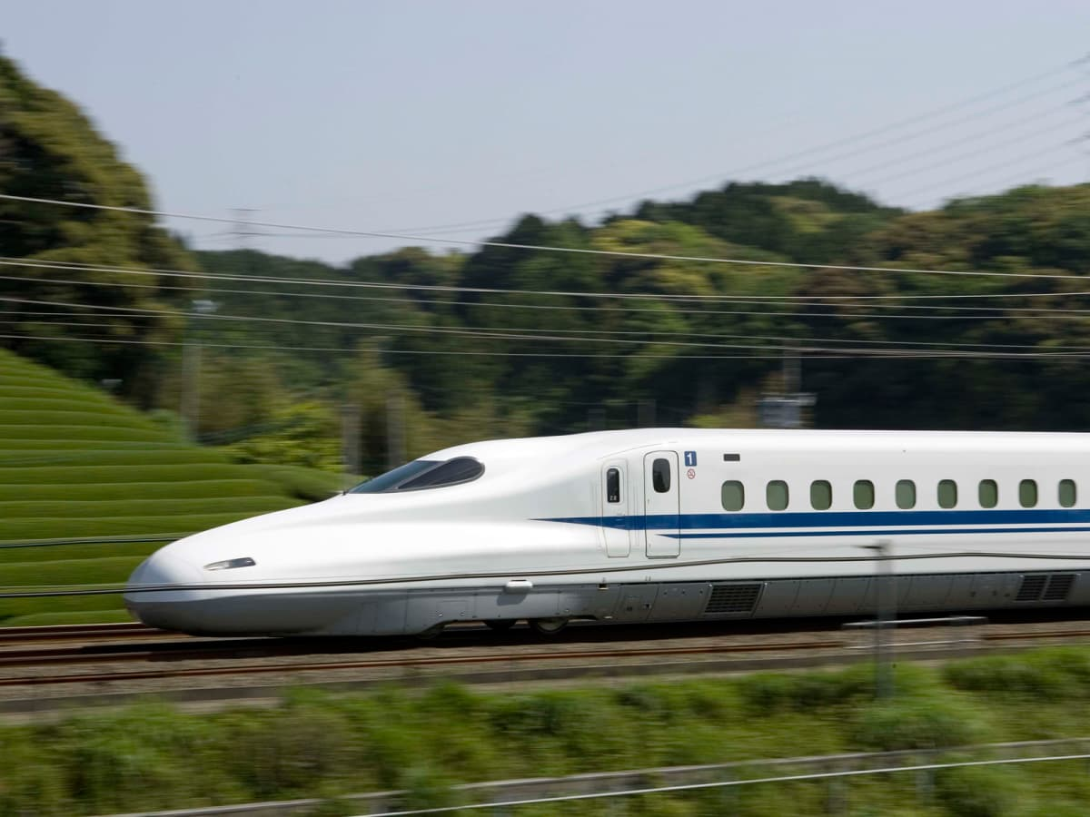 Central Rail high-speed bullet train rail