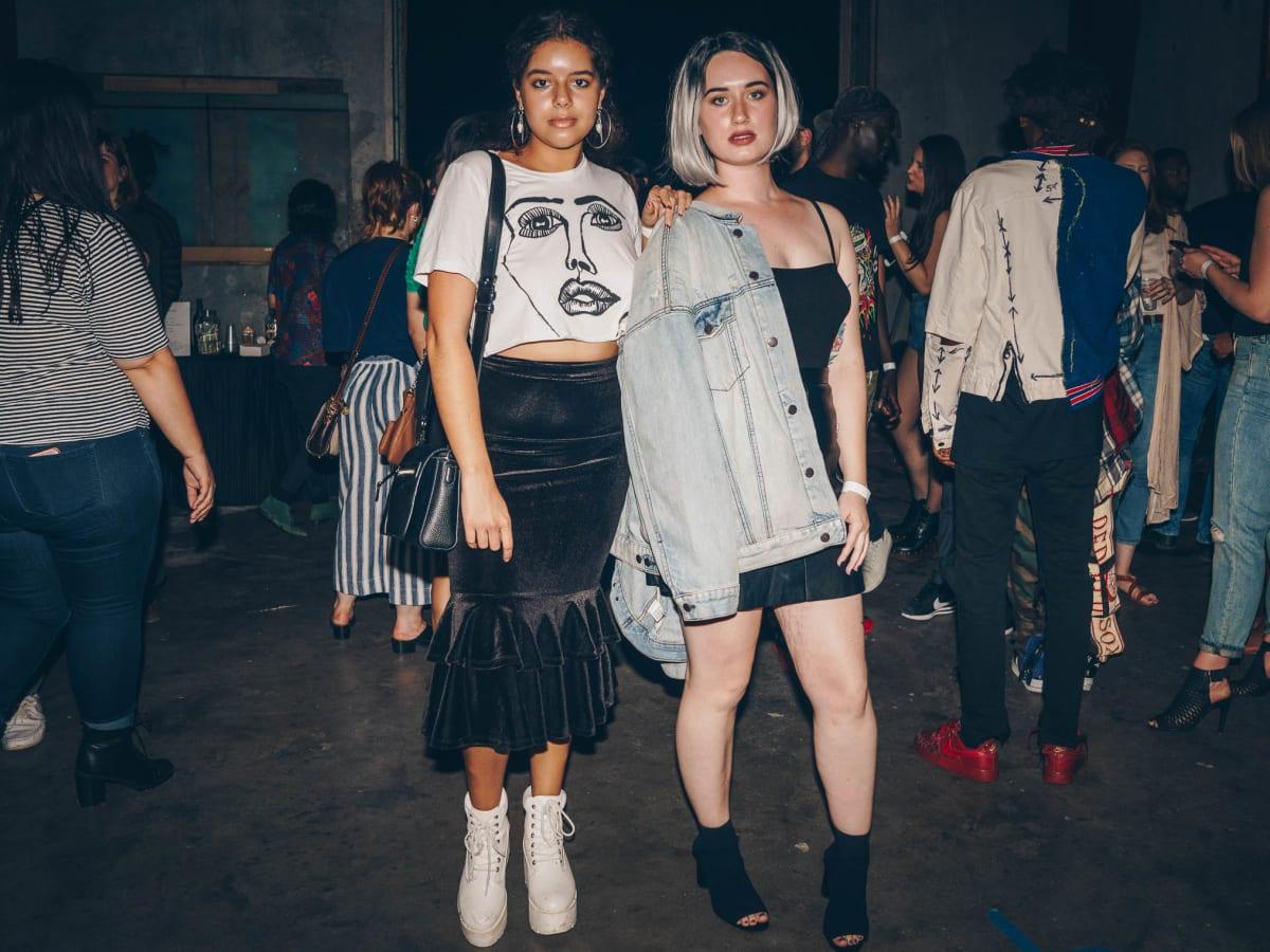 Diptych II Fashion Show Melina Perez Madison Gordon