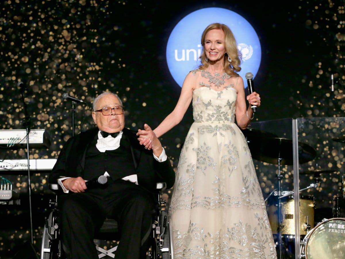 Houston UNICEF gala Sarofims