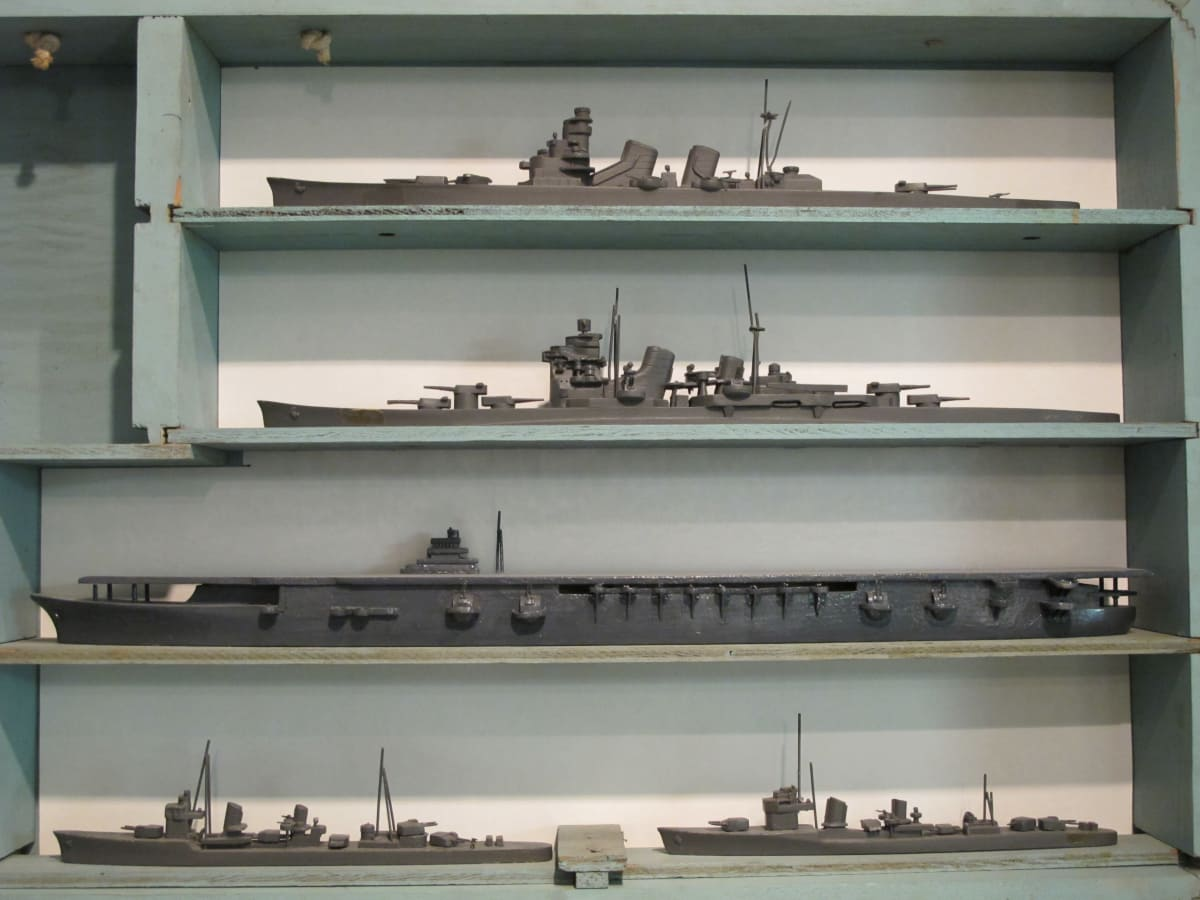 WWII silhouette models