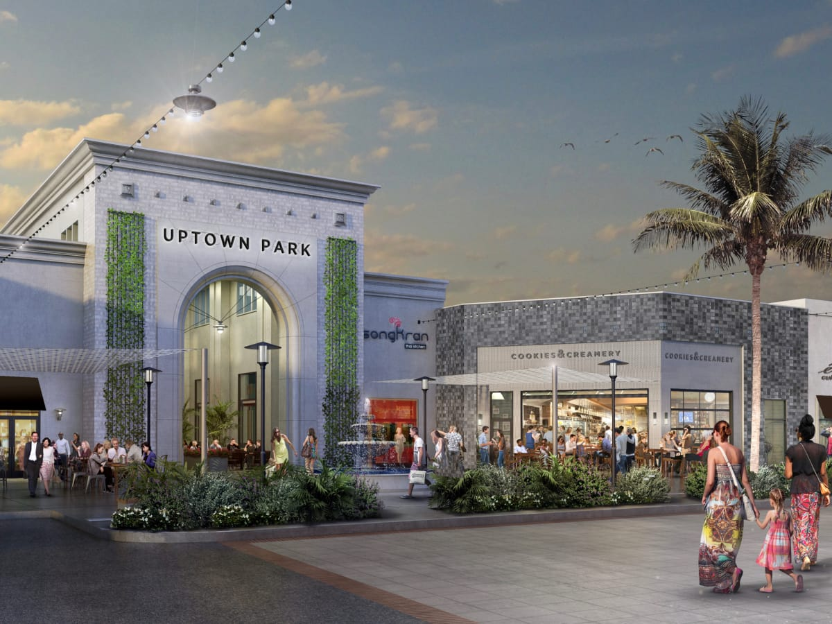Uptown Park shopping center rendering