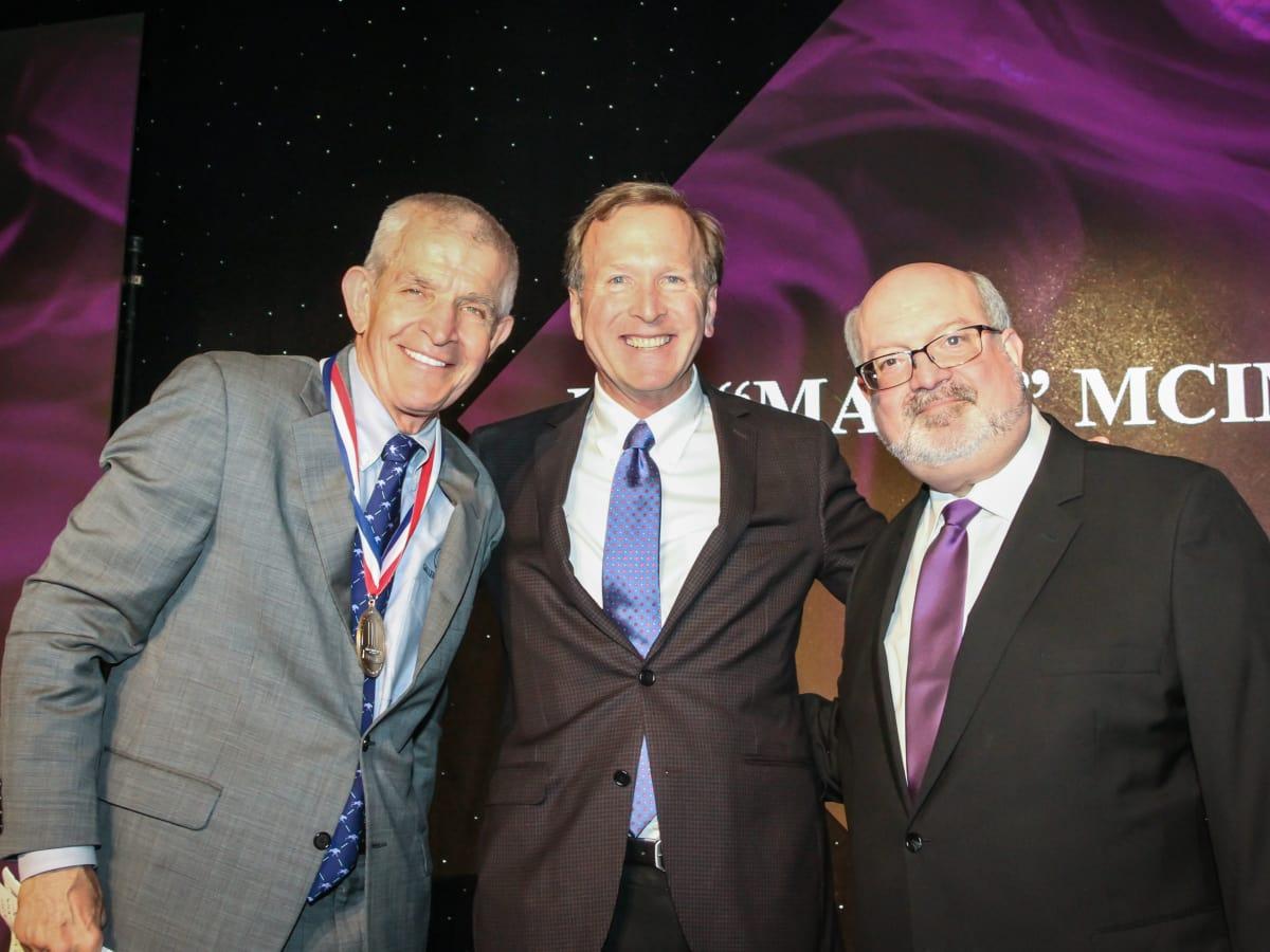 Jim McIngvale, Neil Bush Martin B Comisky