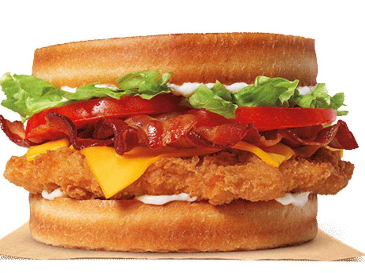 Burger King chicken sourdough sandwich