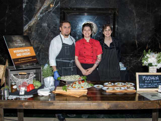 Suki Otuski and team from Mudhen Meat and Greens
