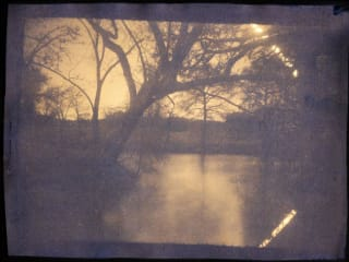 Rice University presents Garrett Marsh: Sunprint Landscapes: Photographs of Honey Creek Ranch