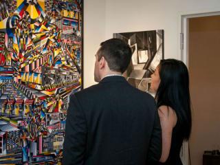 Hannah Bacol Busch Gallery presents Wine Tasting Evening
