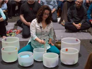 The Rothko Chapel presents New Year's Day Crystal Bowls Meditation