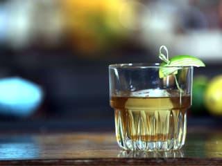 Some Like It Hot Old Fashioned by Dallas bartender Fernanda Rossano