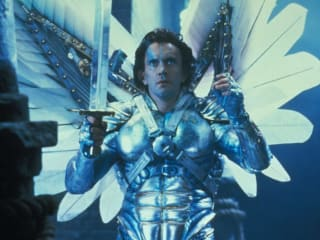 Jonathan Pryce as Sam Lowry in Terry Gilliam's Brazil