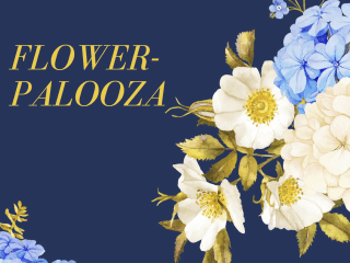 Pop Shop America presents Flowerpalooza