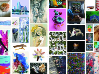 """Art for the People Gallery presents """"Flower Power & The Mighty Vignettes"""" opening reception"""