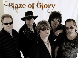 Bon Jovi tribute band Blaze of Glory
