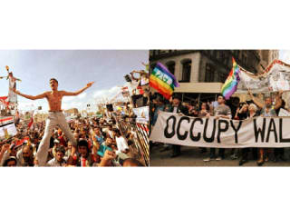 """Voices Breaking Boundaries presents """"Struggles for Freedom: Arab Spring/Occupy Houston"""""""