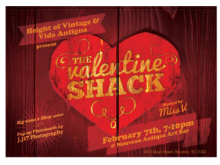 The Valentine Shack Pop-Up Shop