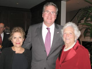 News_Barbara Bush_Columba Bush_Jeb Bush