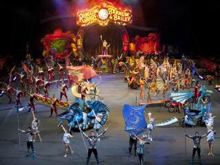 Ringling Bros. and Barnum & Bailey presents Dragons