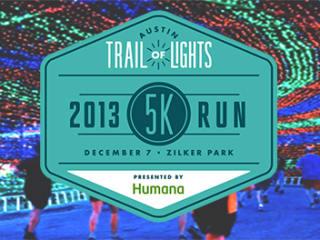 Trail of Lights 5K run and walk 2013