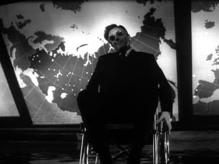 still from the movie Dr. Strangelove with Peter Sellers