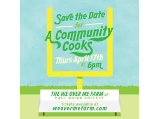 WE Over Me Farm presents A Community Cooks
