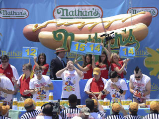Nathan's Famous July Fourth International Hot Dog-Eating Contest