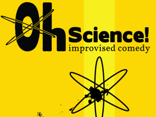 logo for ColdTowne Theater improv comedy troupe Oh, Science!