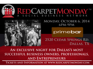 RedCarpetMonday in October 2014