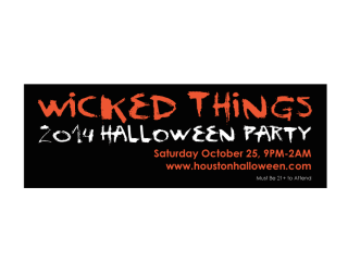 Wicked Things Halloween Party 2014 benefiting Houston Makerspace