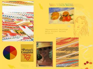 Hello Project Gallery opening reception: Impressionist Paintings by Michelle Rawlings