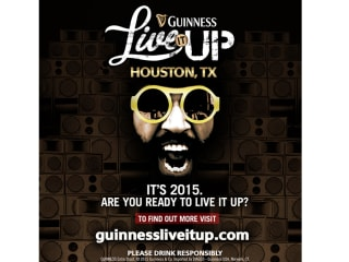 Houston Guinness Live It Up