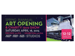 Spring Biannual Art Opening and Charity 12x12 Show