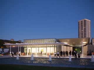 The Garden Pavilion at the Hermann Park Centennial Gardens inaugural dinner October 2014