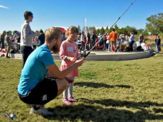 Camp Fire Nature Celebration_fishing_park_2015